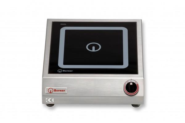 Berner BI1K7 Tisch-Induktionskochplatte quadratisch