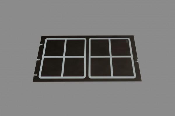 Berner BI2EGLQ10 Induktionskochstelle, 2 quadrat. Spulen, Punktstar