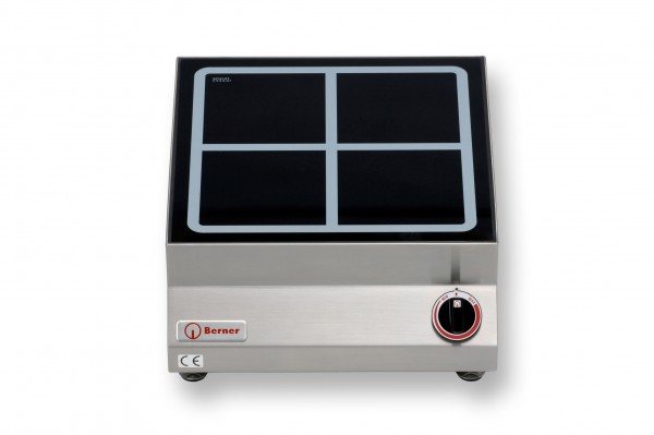 Berner BI1SP Tisch-Induktionskochplatte quadratisch