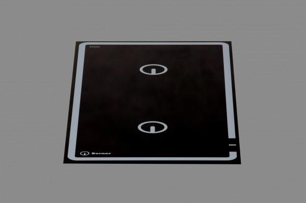 Berner BI2EG10K Kochplatte punktstar, Induktion, 10 kW