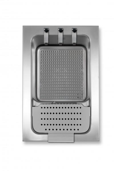 Berner BKEA2/3HE elektronisch geregelter Nudelkocher mit Korbanhebung