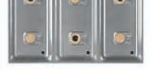 Berner ABM6 Aufpreis für Wasserablaufbohrung 6-Flammen Einbaugasherd