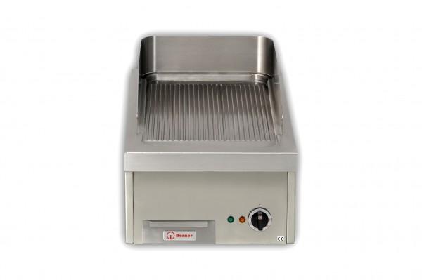 Berner BGADS40R gerillte Gastro-Griddleplatte