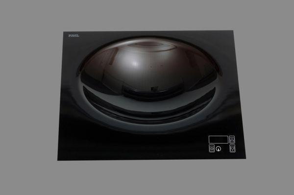 Berner BWEBT5 Einbau Flow-Wok mit Sensor Tastenfeld Induktion 5000 Watt