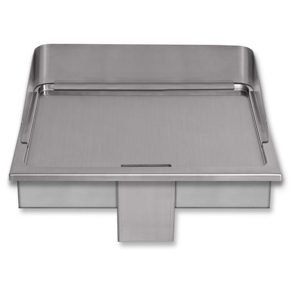 Berner BGE60 Gastro-Griddleplatte als Einbauvariante