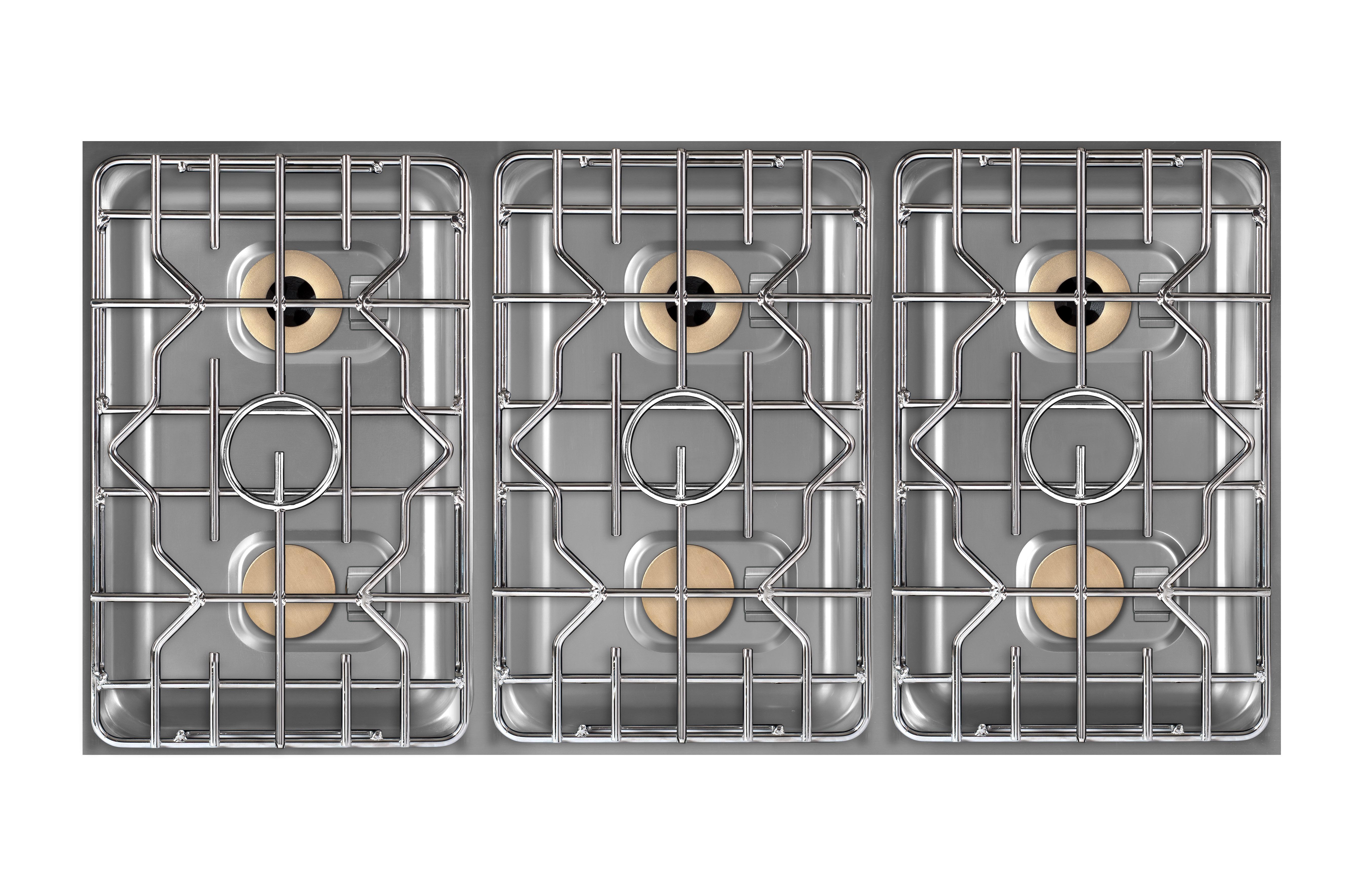 Vorschau: Berner BEG6S70 Einbaugaskochfeld 6 Flammig Für Individuelle  Gastronomieküchen ...