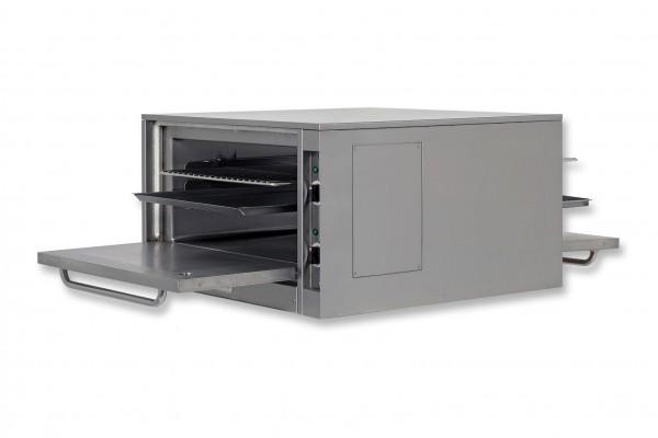 Berner BEBD810 Durchreiche-Backöfen für Gastronomie-Kochblöcke Tiefe 81 cm