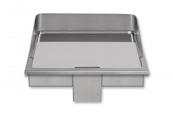 Berner BGE60C Einbaubratplatte hartverchromt für die Gastroküche