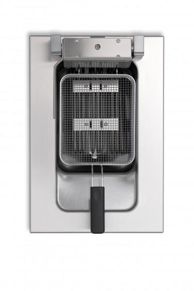 Berner BFES40 9 Liter Gastronomieküchen-Einbaufriteuse mit 10000 Watt
