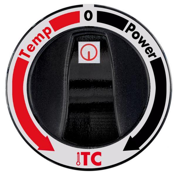 ITC Aufpreis Induktions-Wok mit separater Regelung und Temperatursteuerung
