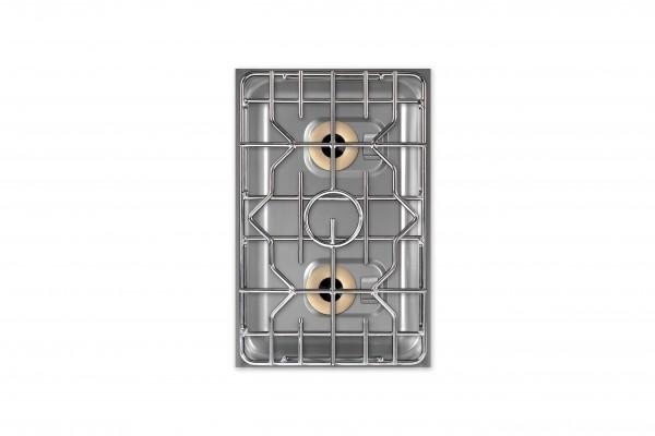 Berner beg2p70 2 platten einbaugasherd mit ringbrennern for Kochfeld induktion 2 platten