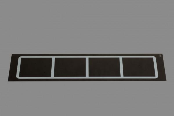 Berner BI1EGSPQ1 Einbaukochfeld Induktion, quer 8 kW
