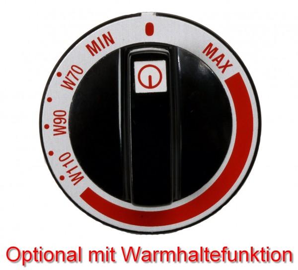 Warmhaltefunktion Berner WHF pro 1 Induktions-Kochplatte