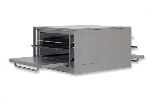 Berner BEBD910 Backofen beidseitig bedienbar für Gastronomie-Kochblöcke Tiefe 91 cm-