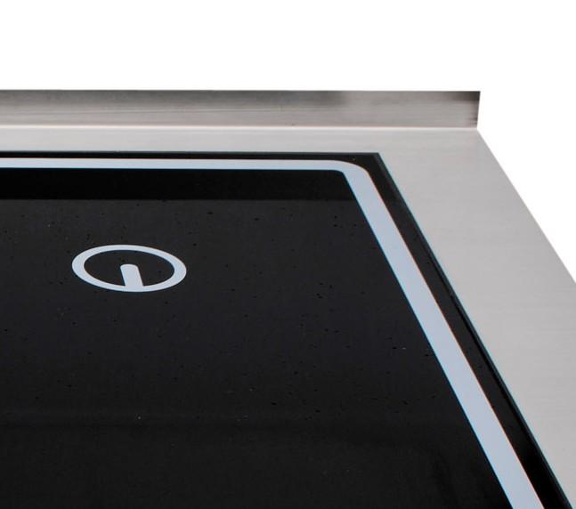 Berner wae optionale 20 mm aufkantung für system 60 20 alle produkte berner induktion shop gastroxtrem