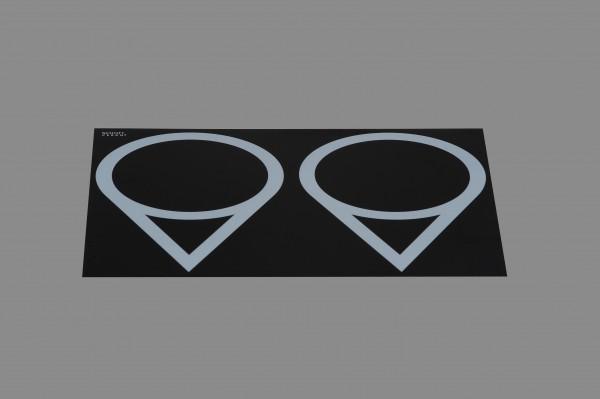 Berner BI2EGMO Movestar Induktionsdoppelkochplatte als Einbaugerät für Gastroprofis