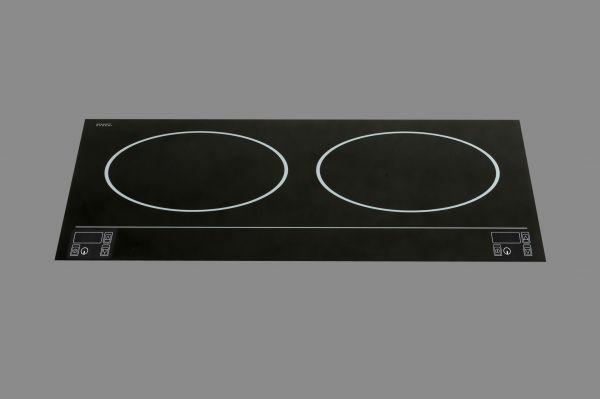 Berner BI2EGS3.5QT, Sensor Tastenfeld, 2 Induktions-Kochstellen nebeneinander, Powerstar