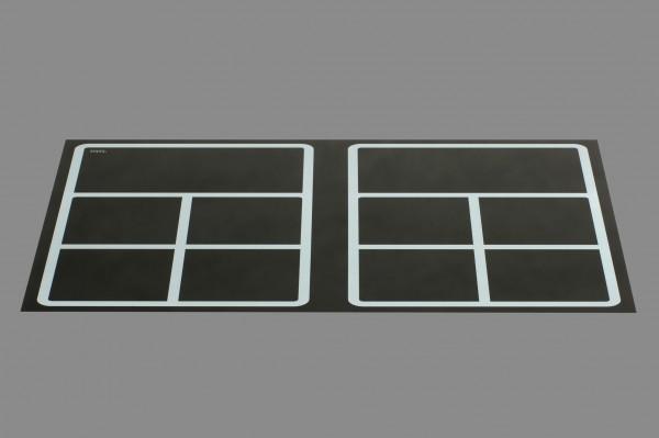 Berner BI2EGMF16, Einbaukochfeld Induktion, Flächenstar + 2 Warmhalteplatten 35 x 16 cm
