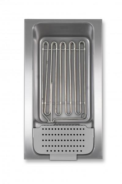 Berner BKES1/1E 15.000 Watt Power-Nudelkocher mit Elektronik für die Gastroküche