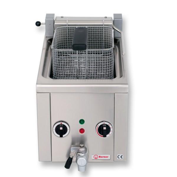 Berner BFSSNK1 Elektro Fritteuse Snack Auftisch Fritteuse 6 Liter Frittstar