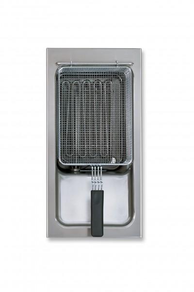 Berner BFEE40 Gastronomieküchen-Einbaufriteuse 17 Liter mit Regelelektronik
