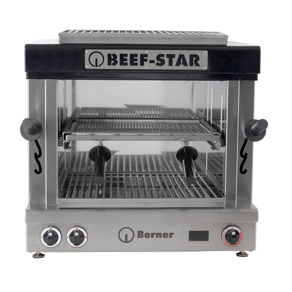 Berner Beef-Star BBFS1 Hochtemperaturgrill mit 2 Heizzonen Größe 1