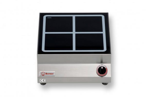 Berner BI1SP2 Tisch-Induktionskochplatte quadratisch