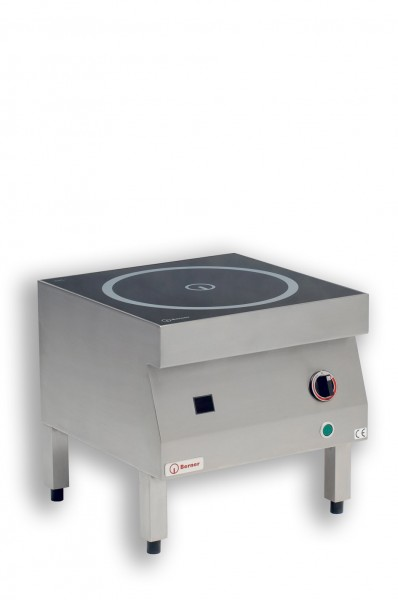 Berner BIHK9 Induktions-Hockerkocher mit 9.000 Watt und 35 cm Topfspule