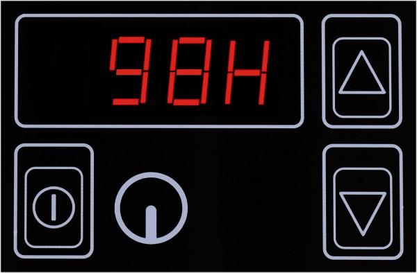 Berner ESRTK Aufpreis elektronische Temperaturregelung mit Touchbedienung für Universalkocher