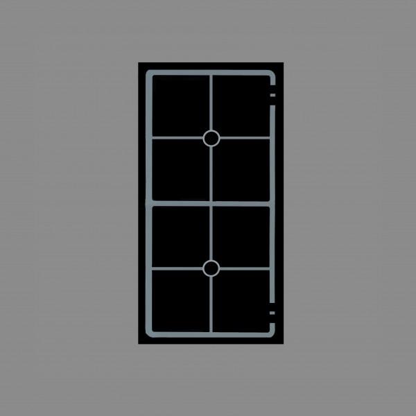 Berner BI2EGVM7, Einbaukochfeld Induktion, Vollflächenstar-Spule, 2 getrennt regelbare Kochfelder
