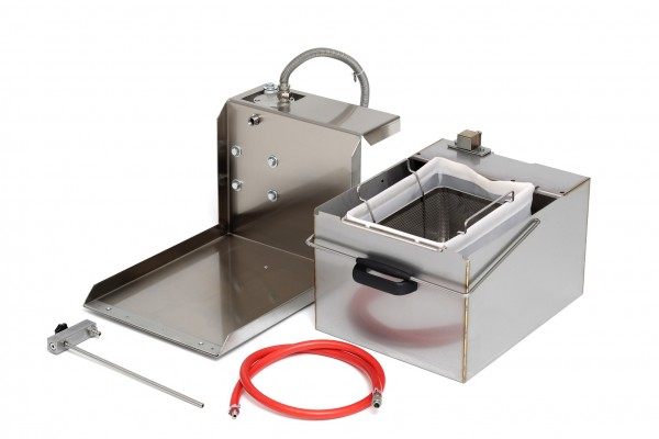 Berner BEPSF1 Fritteusen-Filtersystem Einbausatz für 1 Becken