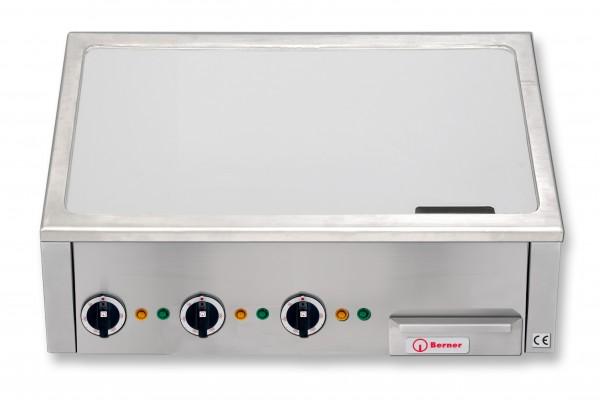 Berner BGAX140C Asia Teppanyaki-Grillplatte hartverchromt