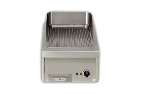 Berner BGAD40R gerillte Gastro-Griddleplatte