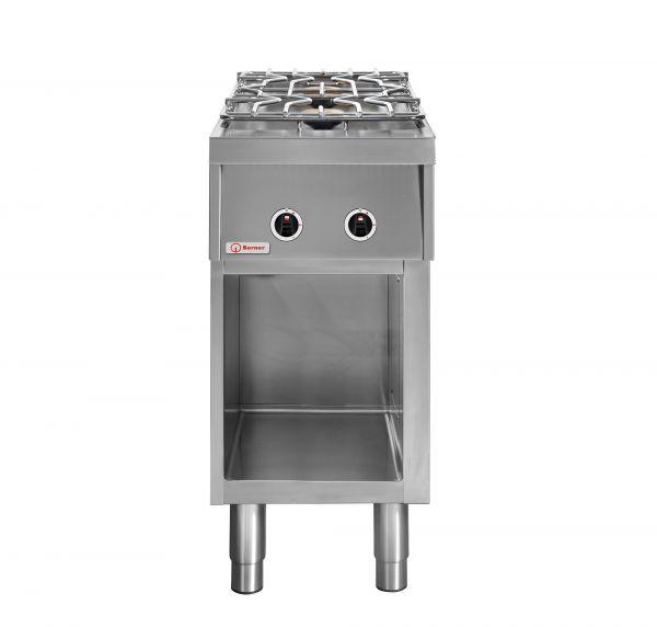 Berner Gasherd BHG2S70 mit 2 Kochstellen 9.000 Watt